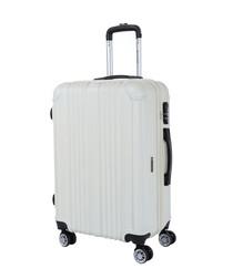 Rockland beige suitcase