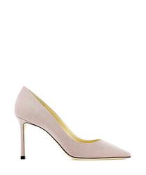 Romy ballet pink court heels