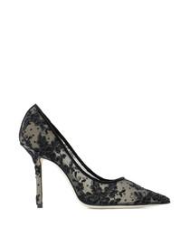 Love black mottled court heels