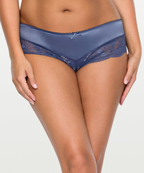 Nightshadow blue lace hipster briefs
