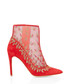 Rosque red suede & mesh ankle boots Sale - Rupert Sanderson Sale
