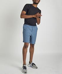 Warrior 1 powder blue eco-poly shorts