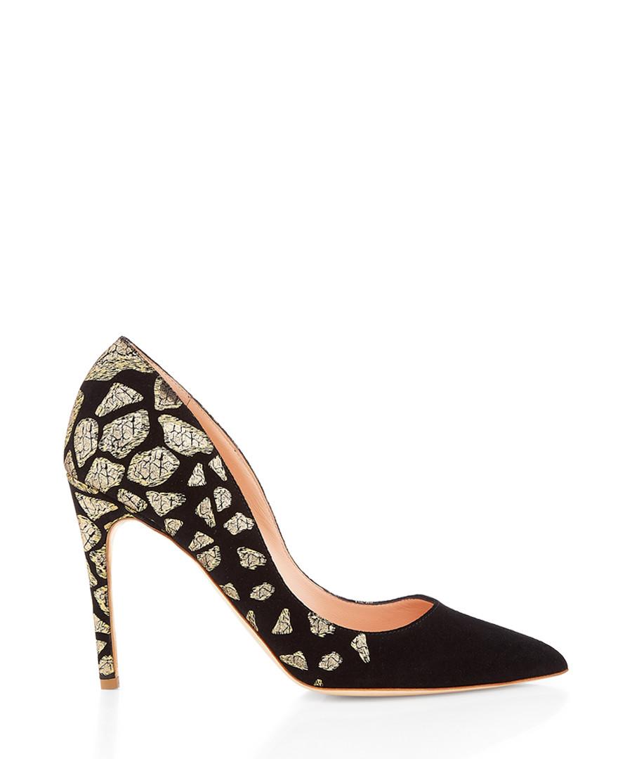 Flash black nappa leather court heels Sale - Rupert Sanderson