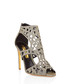 Disc gold-tone cut-out heel sandals Sale - Rupert Sanderson Sale