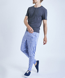 DHG lilac melange tapered bottoms