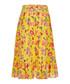 Denisha pineapple floral pure silk skirt Sale - JOIE Sale
