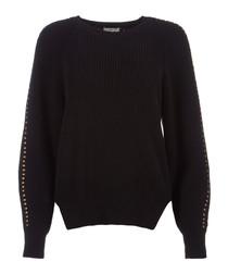 Daxton caviar cotton & cashmere jumper