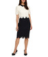 Mandy navy & cream layered lace dress Sale - phase eight Sale