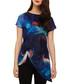 Aurora navy print tunic top Sale - phase eight Sale