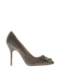 Hangisi bronze embellished court heels