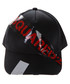 DSQ Tape black pure cotton cap Sale - dsquared2 Sale