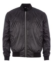 midnight full-zip bomber