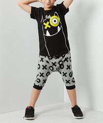 XOX Monster shorts & shirt set