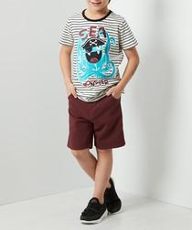 Sea Monster shorts & shirt set