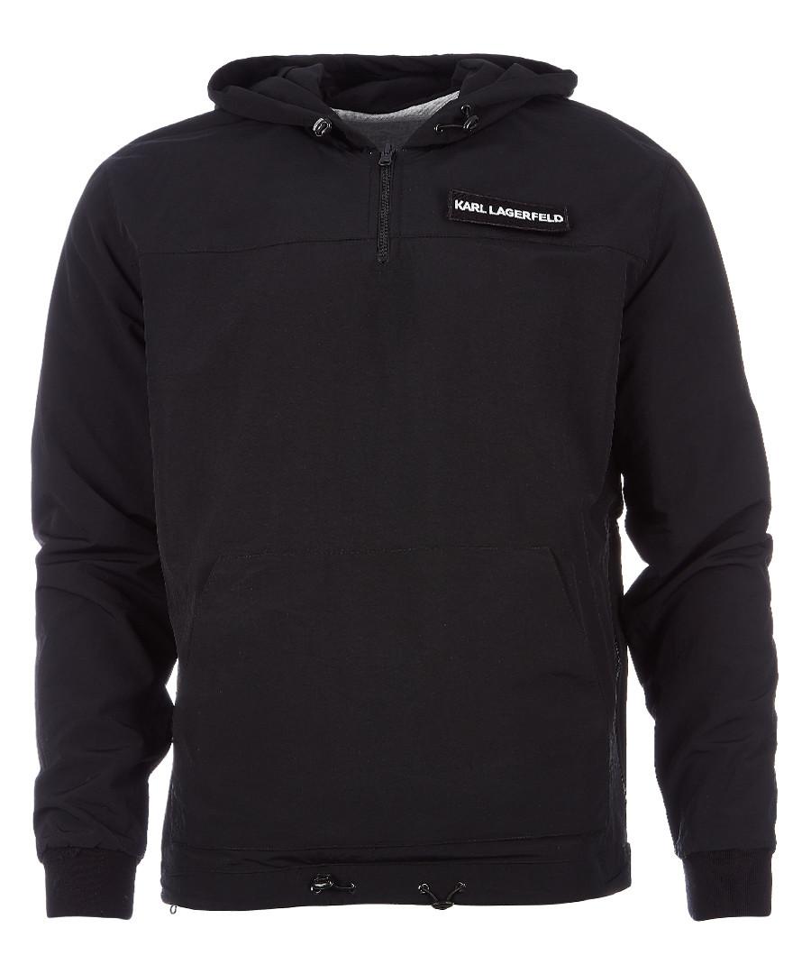 black logo hoodie Sale - KARL LAGERFELD