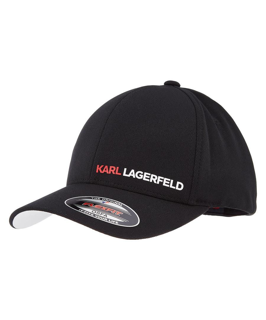 black logo cap Sale - KARL LAGERFELD