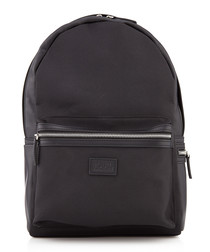 black patch backpack