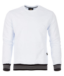 white pure cotton jumper