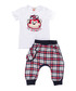 Checked Hiphop shorts & shirt set Sale - Denokids Sale