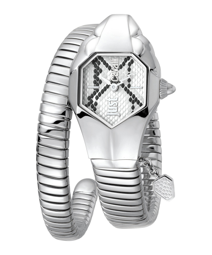 Stainless steel wrap snake watch Sale - JUST CAVALLI