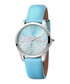 Steel & sky blue leather watch Sale - JUST CAVALLI Sale