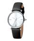 Steel & black leather watch Sale - JUST CAVALLI Sale