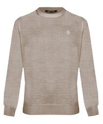 Cipria wool blend sweatshirt