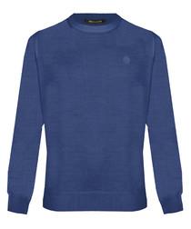Ink wool blend sweatshirt