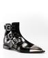 Black leather cut-out biker boots Sale - alexander mcqueen Sale