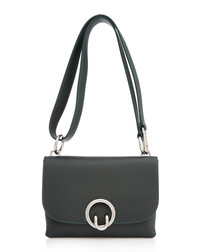 Isabel pine leather crossbody