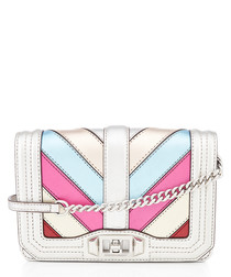 Small Love patchwork leather crossbody