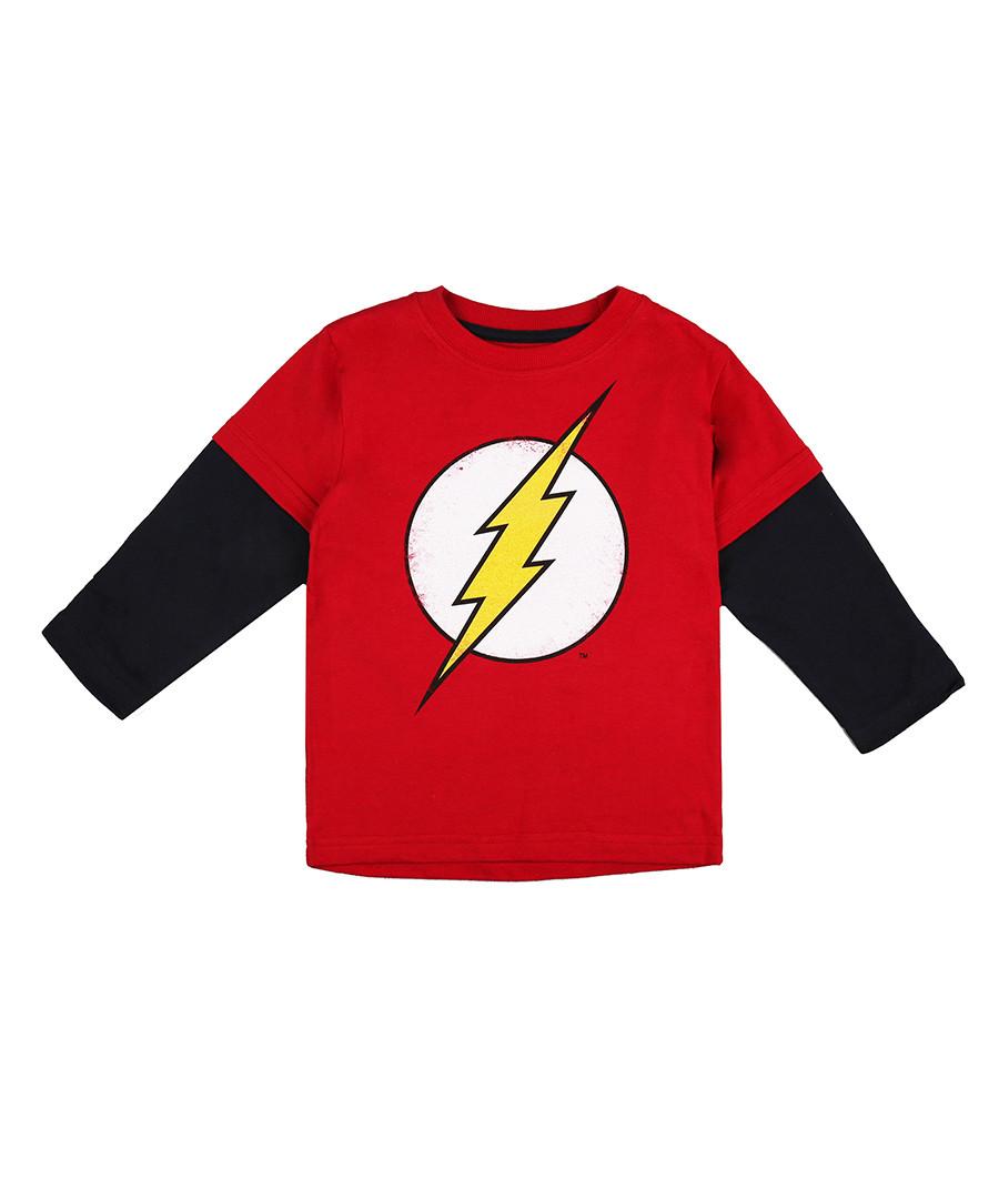 Flash Logo pure cotton t-shirt Sale - dc comics