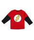 Flash Logo pure cotton t-shirt Sale - dc comics Sale
