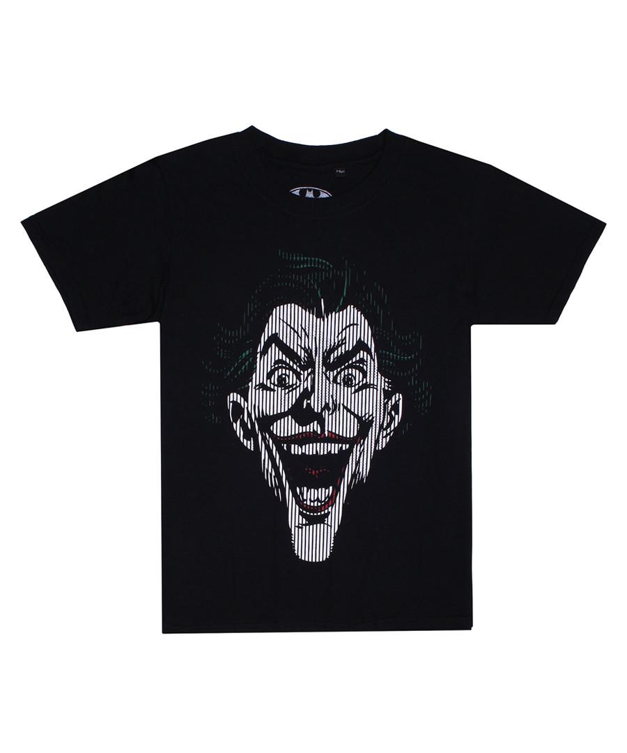 Joker Lines black cotton T-Shirt Sale - dc comics