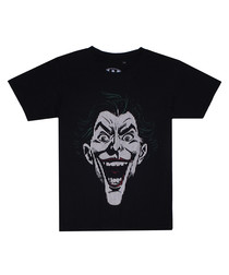 Joker Lines black cotton T-Shirt
