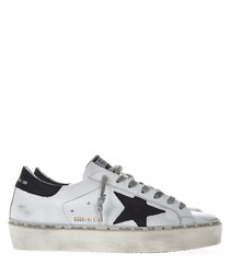 Hi Star white leather sneakers
