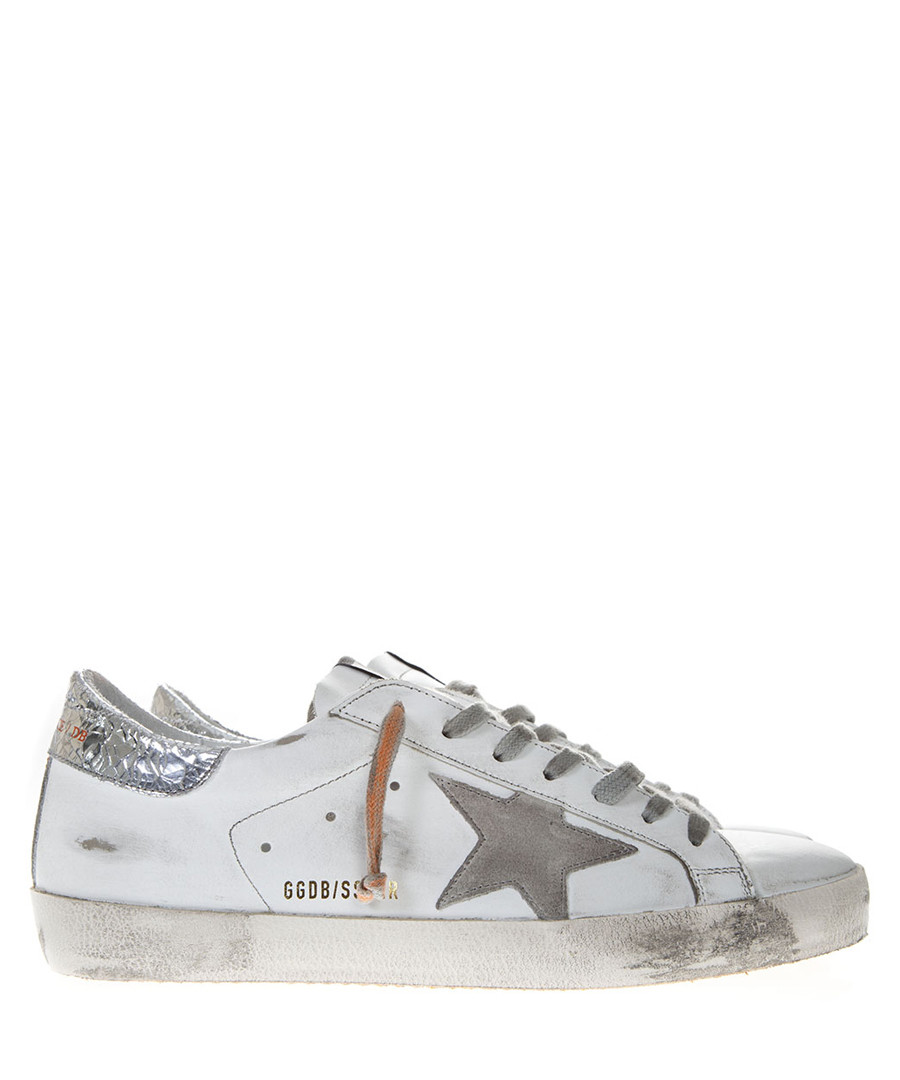 Superstar white leather sneakers Sale - golden goose deluxe brand