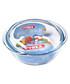 Glass round casserole bowl 27cm Sale - pyrex Sale