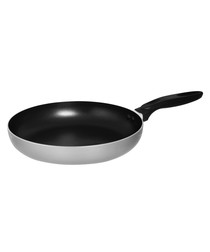 Silver-tone frying pan 30cm