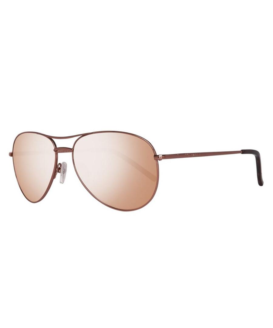 Brown mirror lens pilot sunglasses Sale - ted baker