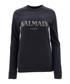 black pure cotton logo jumper Sale - Balmain Sale