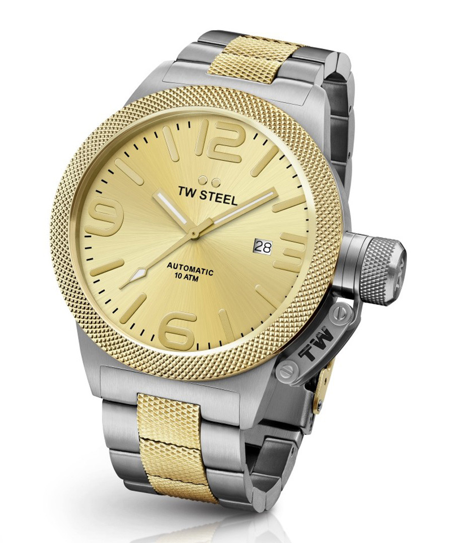 Two-tone stainless steel watch Sale - tw steel