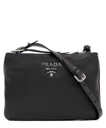 Phoenix leather crossbody bag