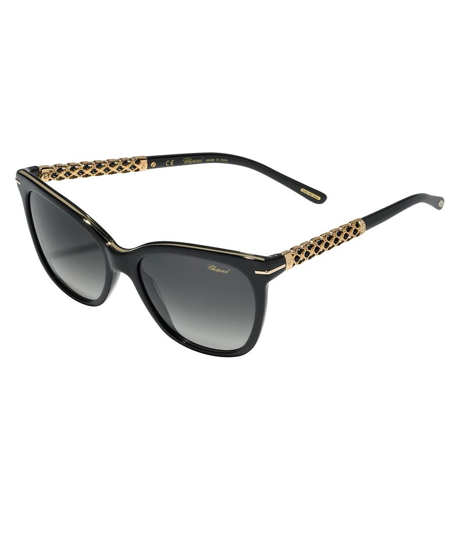 black squared sunglasses Sale - chopard