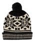 Black & cream fairisle bobble hat Sale - scotch & soda Sale
