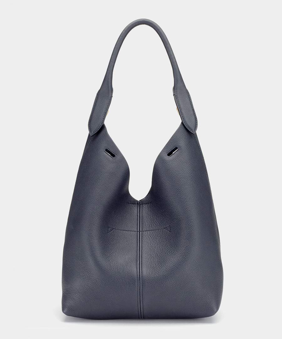 The Bucket pewter cowhide body component Sale - anya hindmarch