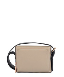 The Mini Nicholson sand leather bag