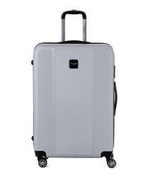 Grey hard shell suitcase 75cm