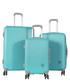 3pc turquoise ridge luggage set Sale - travel world Sale