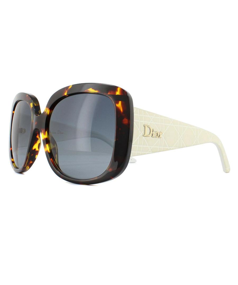 Brown Havana oversized sunglasses Sale - dior
